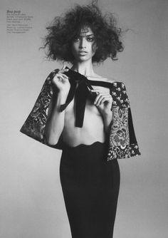 """Head of the Curve"" : Shanina Shaik : Vogue Australia May 2012 : Nicole Bentley | Fashion Editorials | A Photographic Collection of Trending Fashion Magazine Editorials."
