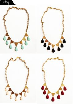 The Vault Files: Etsy File: New necklaces