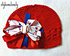 Los Angeles Angels Baseball Baby Girl Boutique by StyleMeLovely00, $12.00