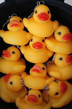 Rubber Duck Place Cards