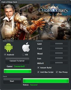 clash of kings the west hack tool apk