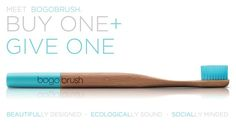 Bogobrush: The first toothbrush you'll actually care about.