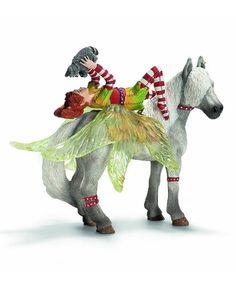 Look at this #zulilyfind! Marween & Horse Figurine Set by Schleich #zulilyfinds