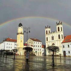 Andrej Sláva Očenáš - Dúha nad banskobystrickým námestím