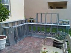 outdoor kitchen plans diy | backyard | pinterest | wood deck