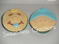 Sweet-Ness Creations Baby Face Cupcakes