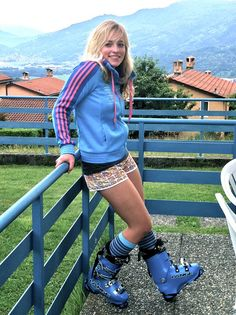 Lara Gut with Lance boots Alpine Skiing, Snow Skiing, Ski Equipment, Ski Girl, Ski Racing, Sporty Girls, Athletic Women, Winter Sports, Female Athletes