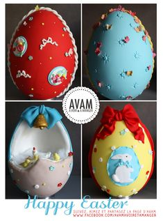 easter eggs inspiration sugarpast pastry