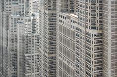 Tokyo Metropolitan Government Building (東京都庁舎)</b>. Architect : Kenzo Tange (設計:丹下健三). Leading contractor : Taisei Corporation (施工:大成建設).