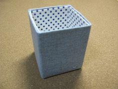簡単にできる牛乳パックの小物入れの作り方|カルトナージュ|紙小物・ラッピング|ハンドメイド・手芸レシピならアトリエ