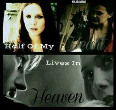 """Half Of My Heart Lives In Heaven."" Marvel xBlueAvenue"