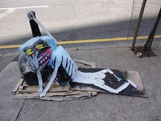Art is Trash: Brick Lane, London 2013
