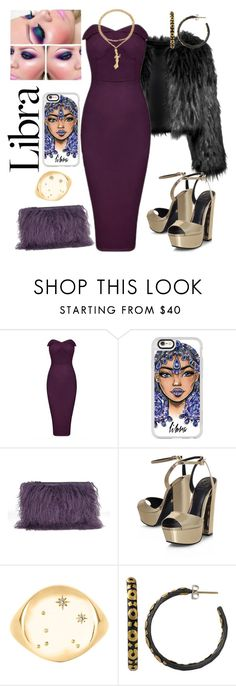"""Libra style ♎"" by preciousokoye ❤ liked on Polyvore featuring Disturbia, Casetify, House of Holland, KG Kurt Geiger, No 13 and Yossi Harari"