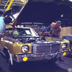 1970 Chevrolet Monte Carlo - assembly line