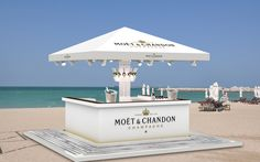 Moet Champagne Corner Bar Dubai Airport on Behance
