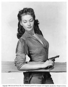 CALAMITY JANE & SAM BASS (1949) - Yvonne De Carlo as 'Calamity Jane' - Universal-International - Publicity Still.