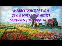 Claude Monet for kids! - YouTube