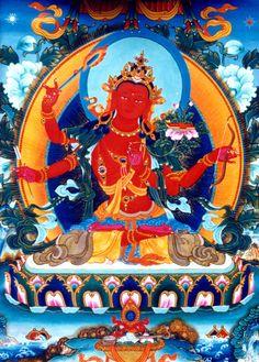 Four arms Manjusri