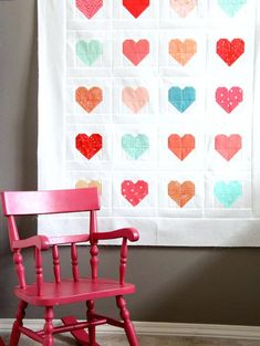 Simply Quilts Patterns Simple Heart Quilt Hgtvs Simply Quilts Patterns