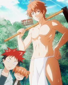 Shokugeki no Souma | Food Wars! | Satoshi Isshiki (ET: 7th) | Anime | Gif…