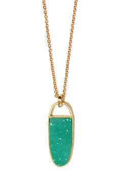 Sultan of Style Necklace: Jade - $19.99 : Spotted Moth, Chic and sweet clothing and accessories for women