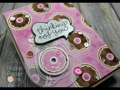 Lawn Fawn Love You a Latte Take 2 | Mission Gold Watercolors | AmyR Coffee Card Series #6 - YouTube