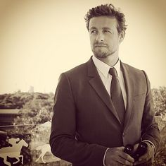 SimonBaker at the Longines Queen Elizabeth Stakes 2014, Australia