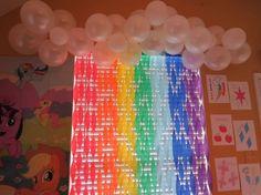 My Little Pony Party backdrop   CatchMyParty.com