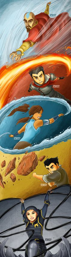 Avatar: The Legend of Korra by alvinsanity.deviantart.com on @DeviantArt