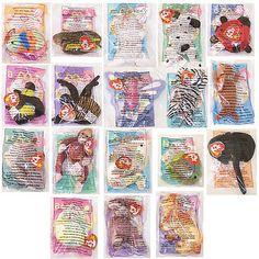 1fac6c5c8f6 Teenie Beanies 441  Ty Mcdonald S Teenie Beanies - Complete Bagged Set Of  18 (