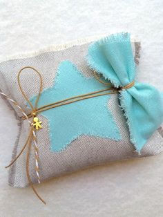 Star Baptism Favor by LuckyLuvEventsCo on Etsy Little Star, Little Boys, Baptism Favors, Baby Baptism, Small Pillows, Etsy Crafts, Making Out, Cotton Fabric, Coin Purse