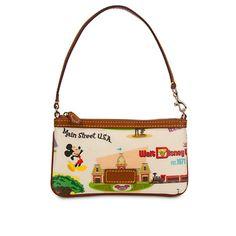 Walt Disney World Wristlet Bag by Dooney & Bourke - Retro | Bags & Totes | Disney Store-$85