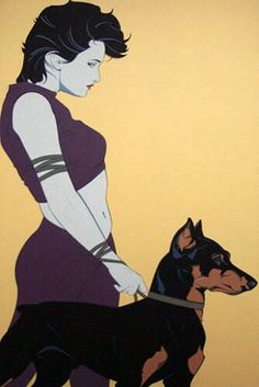Painting by Patrick Nagel