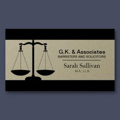 Lawyer attorney professional elegant black business card law business card simple pewter lawyer attorney accmission Gallery