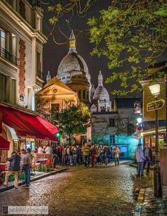 Dome of Sacre Coeur, 18 arrondissement  Paris, France