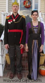 Wayward Girls' Crafts: Halloween 2014 Costumes: Frozen!!