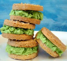 Hoopfinity's Happenings: Dairy-Free Green Tea Ice Cream Sandwiches: A So Delicious 3-Course Recipe Contest Entry