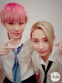 Woozi and Jeonghan. <3