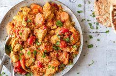 Tunesisk gryde med kylling og couscous - mad fra tunesien