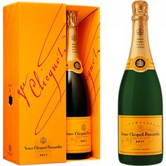 Veuve. (My budget is more off-brand, but I can dream.) :-)
