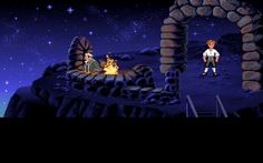 """I'm Guybrush Threepwood, Mighty Pirate™!"" 