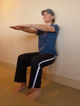 The Easiest Exercise for Immense Quad Strength: Wall Sit Quad Exercise