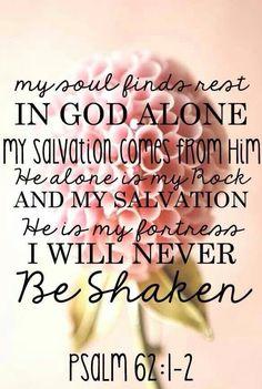 """Psalm 62:1-2 September 24, 2014 """"We won't be shaken."""" -Building 429"""