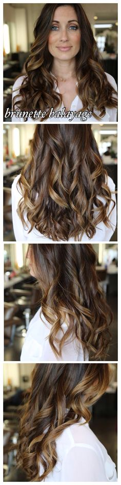 49 Trendy Ideas For Hair Color Ideas For Brunettes For Fall Blue Eyes Subtle Highlights hairhighlights Balayage Brunette, Balayage Hair, Ombre Hair, Brunette Balayge, Caramel Balayage, Bayalage, Love Hair, Gorgeous Hair, Weave Hairstyles