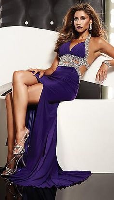 Elegant Natural Sheath Sleeveless V-neck Evening Dress In Stock kaladress10258