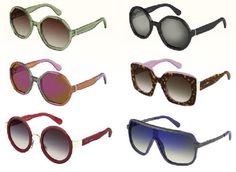 Marc Jacobs presents his new Spring/Summer 2015 eyewear collection. With oversized shapes and bold colors, the frames were inspired by the '70s. Featuring geometric shapes and extraordinary color combinations, the new frames are enhanced by a smart blend of materials for a playful and sophisticated effect.  #marcjacobs #sunglasses #eyewear #summer #spring #eyeglasses #optical #eyecare #eyezone #eyezonemagazine