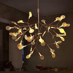 New Modern Plant Pendant Light LED Chandelier Lighting Heracleum II Ceiling Lamp