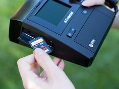 The future, polaroid z340, digital!