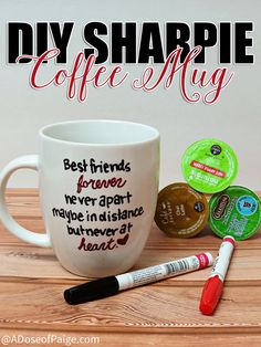 This DIY sharpie mug is super durable and gives you a method to recreate just about any design you want!