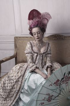 / the delights of the boudoir / miss pandora / louise ebel / rococo costume / Mode Rococo, Mode Baroque, Rococo Style, 18th Century Clothing, 18th Century Fashion, Rococo Fashion, Vintage Fashion, Louise Ebel, Cinderella